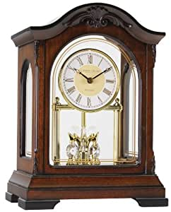 Skeleton wooden Anniversary clock with Westminster chime
