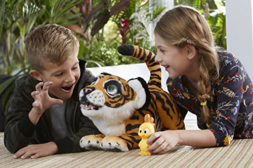Hasbro FurReal Friends B9071100 Tyler, der Königstiger, elektronisches Haustier - 5