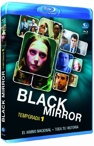 Black Mirror - Season 1 ( Black Mirror - Season One ) [ Blu-Ray, Reg.A/B/C Import - Spain ] Floral Mirror