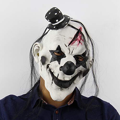 n Maske Mit Rotem Haar Für Erwachsene Für Halloween-Party 5 Stil Halloweenkostüm Party Requisiten Masken Dekorationen,Picture4 ()