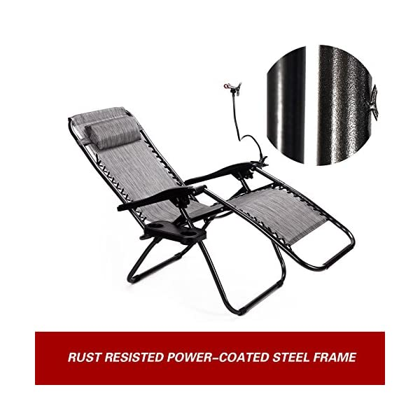 Superworth Set Of 2 Zero Gravity Chairs - Various Colours Available