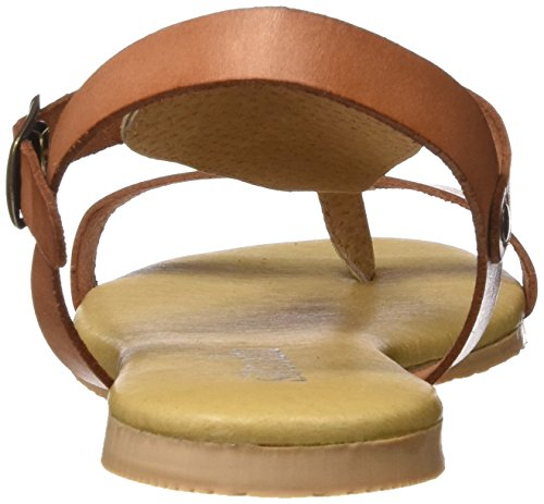 SOTOALTO - 4270597841, Sandali con cinturino Donna Marrone