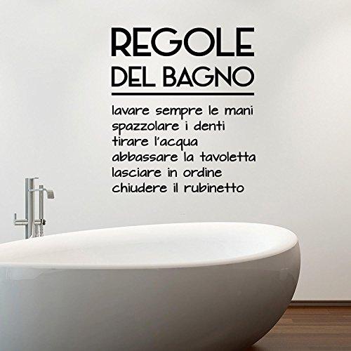 Adesiviamo 1480 m regole della cucina wall sticker adesivo for Adesivi decorativi per piastrelle bagno