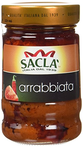 Sacla Arrabiata le Pot 190 g - Lot de 4
