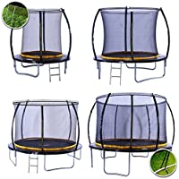Kanga Premium Trampoline with Safety Enclosure, Net, Ladder and Anchor Kit