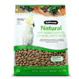 Zupreem Natural gran comida para pájaros, martillo