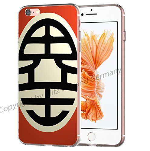 Blitz® Dragon Ball Z motifs housse de protection transparent TPE iPhone M15 iPhone 5c M4