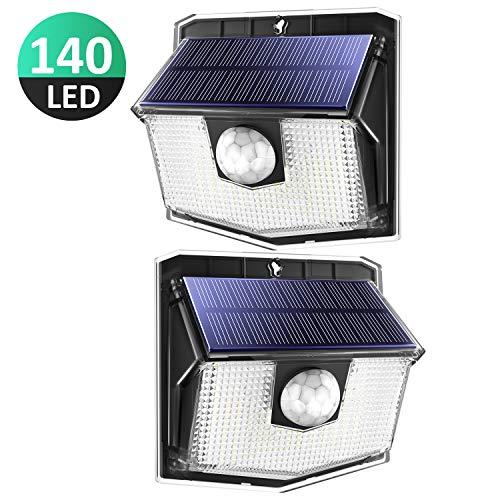 140 LED Solarlampen außen270