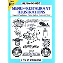 Ready-to-Use Menu and Restaurant Illustrations (Clip Art) by Leslie Cabarga (1990-09-01)