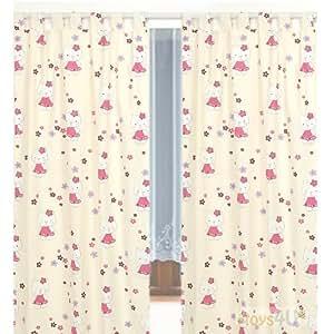Kinderzimmer-Vorhang, 155x95cm (2 Stück) D1