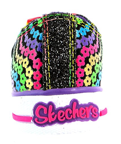 Skechers Shuffles bohemian Bloom, Baskets Basses fille Multicolore