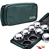 Boules - Garden Bowls Set - Boule Set - Steel Boules Set - Quality Outdoor Garden Games for Over 220 Years - Jaques of London