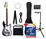 Rocktile Groover's Pack PB E-Bass Set II Black Groover's Pack