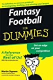 Fantasy Football for Dummies (For Dummies Series)