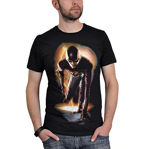 The Flash Maglietta Maglia T Shirt Go To Start Size XL CODI