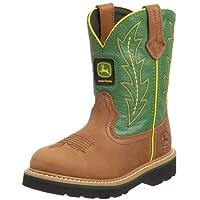 John Deere Toddler Kids Cute Green Cowboy Boots 2.5