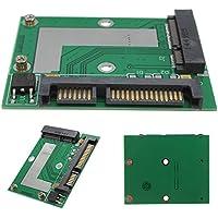 ELEGIANT Mini PCIe SSD mSATA a 2.5 SATA 6.0 GPS Adaptador Tarjeta Adaptador Convertidor Módulo Tablero