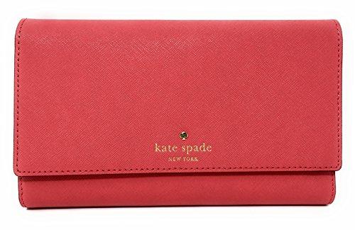 Kate Spade New York Mikas stagno Phoenix Tri-Fold portafoglio Rosso Crab Red