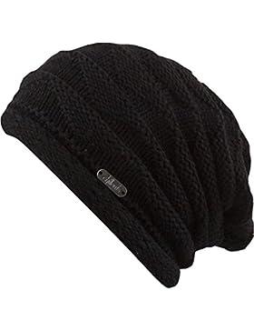 CHILLOUTS, Berretto invernale Unisex adulto Tanja Hat, Unisex, Wintermütze Tanja Hat, Black, Taglia unica