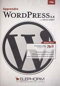 Apprendre Wordpress 3.4 - Edition 2013 (Olivier Gobet) Formations vidéo complète en + de 7h30. Maîtrisez WordPress 3.4 le CMS le plus répandu au monde pour concevoir un site Web de qualité.