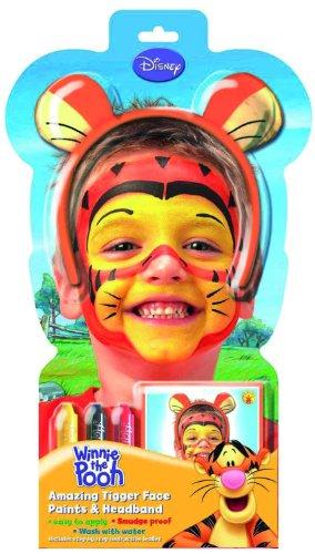 Rubies 5317 - Schminkset Tigger inklusiv Haarreif mit Ohren (Pooh Und Tigger Halloween Kostüme)