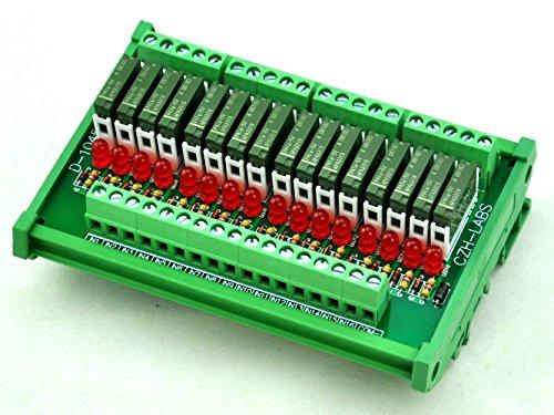 electronics-salon-modulo-rele-slim-montaggio-su-guida-din-dc5v-fonte-pnp-16-spst-no-5a-potere-pa1a-5