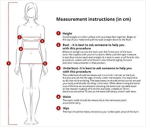 Marko Salma M-254 trendiger Bikini-Set, abnehmbarer Träger, Top Qualität, Made in EU Gelb
