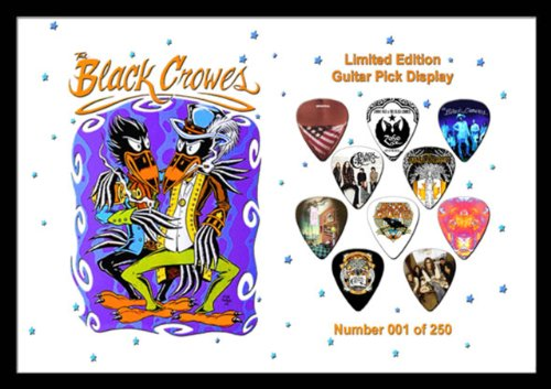 Black Crows Chitarra Pick Plettri Display Large (A4)