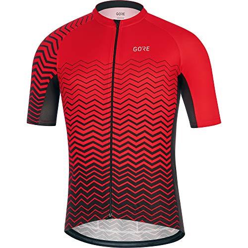 Gore Wear Herren GORE C3 Trikot C Red/Black, M -