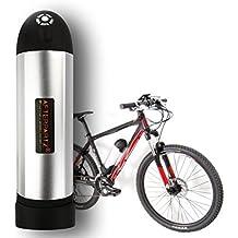 Botella AFTERPARTZ® 36V 10.4Ah bicicleta eléctrica de la batería kit de conversión de pilas Samsung E-bici de la batería Li-ion con cargador y sostenedor para Prophete / Stella / Forza Etc.