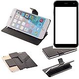 K-S-Trade Schutz Hülle für Cyrus CS 22 Schutzhülle Flip Cover Handy Wallet Case Slim Handyhülle bookstyle schwarz