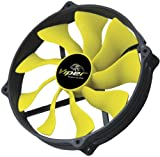 Akasa AK-FN073 14cm Viper-R Round Fan on 12cm Fan Fitting