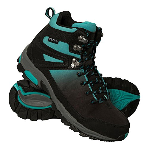 Mountain Warehouse Retrieve Wasserdichte Softshell-Damenschuhe Blaugrün 41 EU