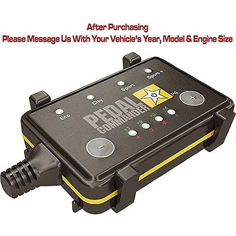 Comandante de pedal del acelerador controlador de respuesta para todos los modelos de Ford 2011y posteriores–Obtener una mayor rendimiento o ahorrar combustible hasta un 20%