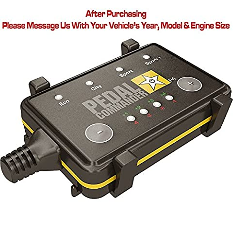 Pedal Commander throttle response controller for all Acura models 2006 and newer - get increased performance or save fuel up to 20% - Available for TLX, TL, ILX, MDX, RLX,