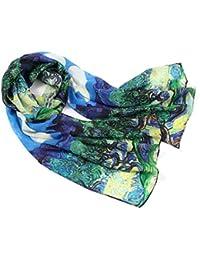 Prettystern - Peinture sur soie 160cm art print foulard de soie Claude  Monet - différents modèles cb85bcf8cfc