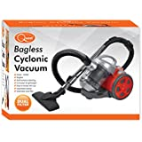 Quest 41720 Benross Bagless Cylinder Vacuum Cleaner with HEPA Filter and Attachments, 1000 W