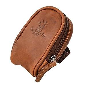 "Bolsa de couro de couro Saddle Bag Gusti Leder ""Noah"" couro bolsa de acessórios de couro de búfalo 2G13-20-2wp"