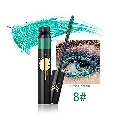 Coloré Mascara Maquillage pour les yeux Allongement Curling Séchage rapide