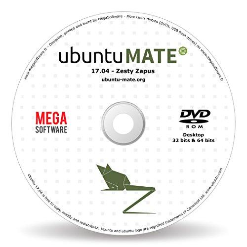 Ubuntu MATE 17.04 Live – 32 & 64 bits – DVD