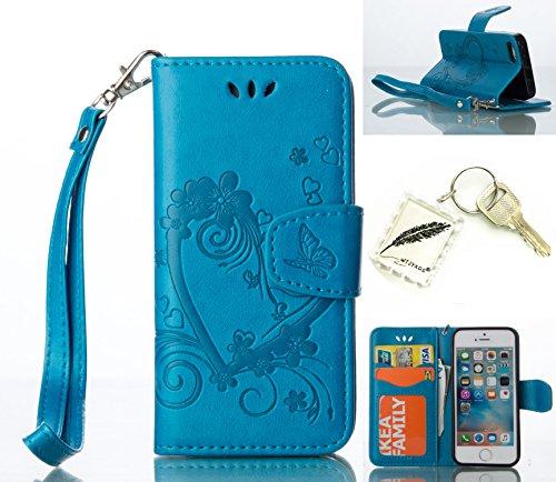 Etui Coque PU Slim Bumper pour Apple iPhone 5 iphone SE /5G/ 5S (4,0 pouces) Souple Housse de Protection Flexible Soft Case Cas Couverture Anti Choc Mince Légère Silicone Cover Bouchon -photo Frame Ke 4