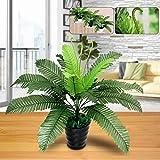 Feida Parure 1pièce Plante Artificielle Feuillage Vert Fougère pour Office Home Garden Décoration de fête de Mariage