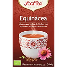 Yogi Tea Equinacea - Paquete de 6 x 17 Sobres - Total: 102 Sobres