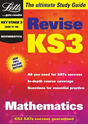 Key Stage 3 Maths Study Guide (KS3 Revision) (Letts Revise Key Stage 3) from Letts Educational