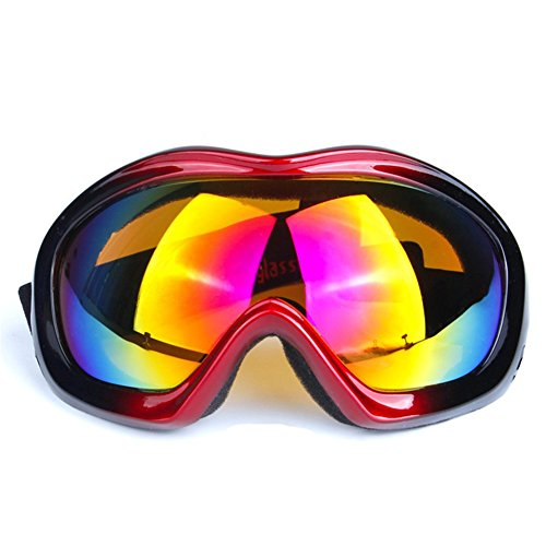 Z-P Unisex Adult Outdoor Sports Style Motorcycle Windproof Dustproof Ski Equipment Snowboard Hiking Anti-reflection Shield Goggles UV400