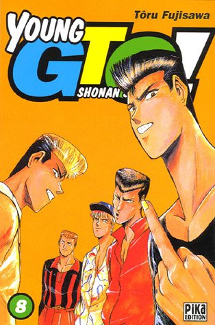Young GTO - Shonan Junaï Gumi Vol.8