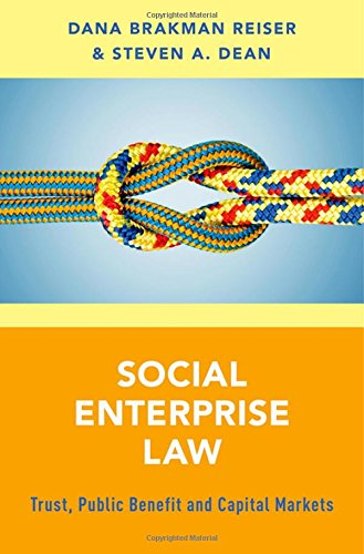 PDF] Social Enterprise Law: Trust, Public Benefit and