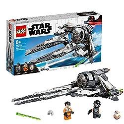 LEGO® Star WarsTM Black Ace TIE Interceptor Jeu de construction, 8 Ans et Plus, 396 Pièces 75242