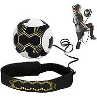 OurLeeme Cinturón de Entrenamiento de fútbol, Kick Trainer Entrenamiento de fútbol Ayuda práctica en Solitario de Manos Libres para Mejorar Las Habilidades de fútbol para niños Adultos