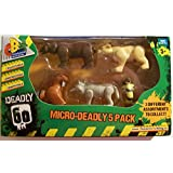 Character Building Deadly 60: Micro-Deadly 5 Pack (SET B)